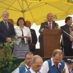 Ehrengäste bei der Festansprache